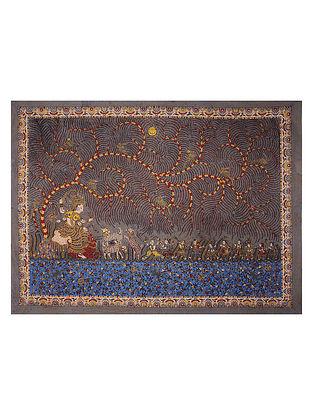 Meladi Mata Ne Pachedi Artwork (L - 60in, W - 82in)