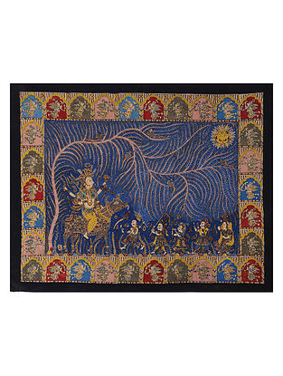 Sagat Mata and Tree of Life Mata Ne Pachedi Artwork (L - 39in, W - 50in)