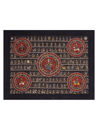 Sagat Mata Ne Pachedi Artwork (L - 35in, W - 48in)