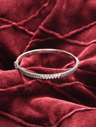 Classic Silver Bangle (Size: 2.4)