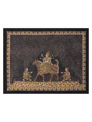 Goddess Maldi Mata Ne Pachedi Artwork (L - 45.5in, W - 60in)
