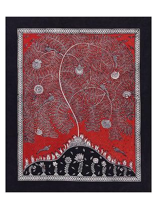 Tree of Life Mata Ne Pachedi Artwork (L - 36in, W - 28in)