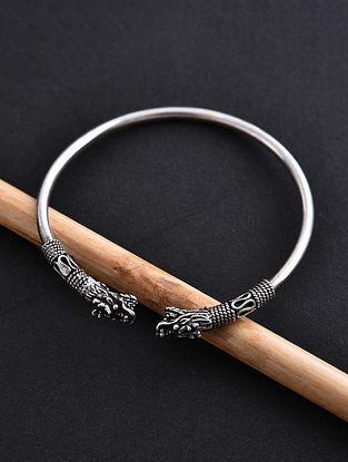 Tribal Silver Adjustable Bracelet