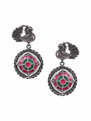 Kundan Silver Earrings