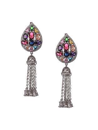 Multicolour Sterling Silver Earrings