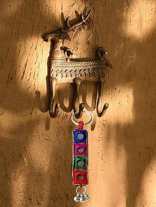 Handmade Brass Wall Hook (L - 5in, W - 3.5in)