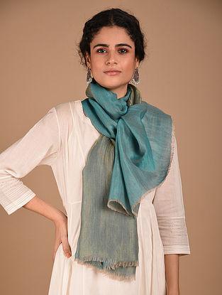Turquoise  Reversible Pashmina Stole