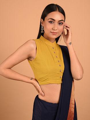 Yellow Cotton Blouse