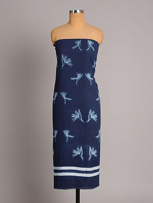 Blue Shibori Cotton  Fabric