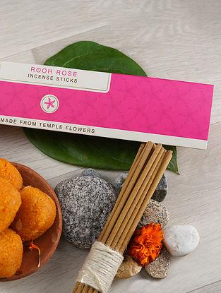 Rooh Rose Incense Sticks (Pack of 30)
