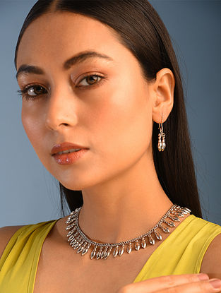 Tribal Silver Necklace Set