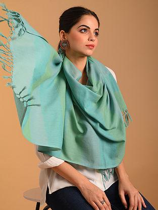 Blue Handwoven  Cotton Stole