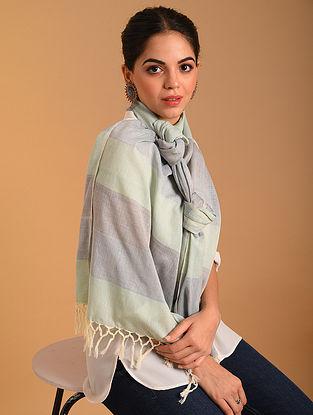 Grey Handwoven  Cotton Stole