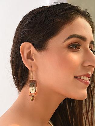 Copper Tone Handcrafted Earrings