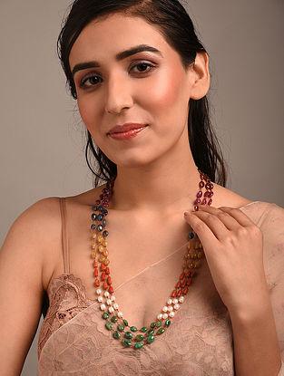 Multicolour Navratan Beaded Necklace