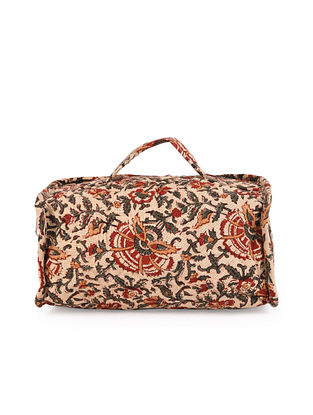 Multicolored Handcrafted Hand Block Printed Cotton Utility Case