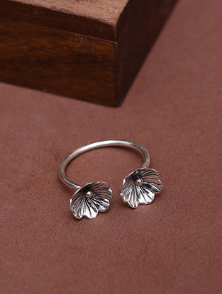 Classic Silver Adjuatable Ring (Size: 14)