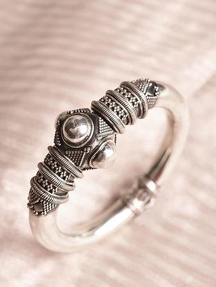 Tribal Silver Kada (Size: 2/5)