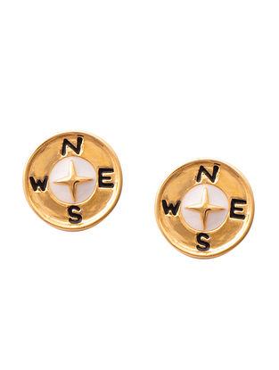 Multicolour Gold Silver Earrings For Kids