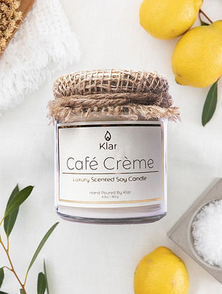 Cafe Creme - Luxury Scented Handpoured Soy Candle (6.3 oz)