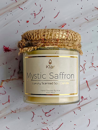 Mystic Saffron - Luxury Scented Handpoured Soy Candle (6.3 oz)