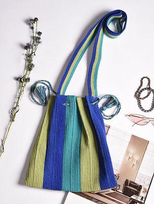 Multicolored Handcrafted Crochet Cotton Potli
