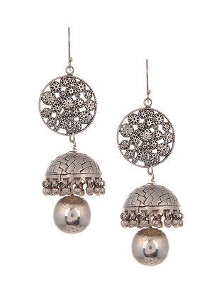 Vintage Silver Jhumki Earrings