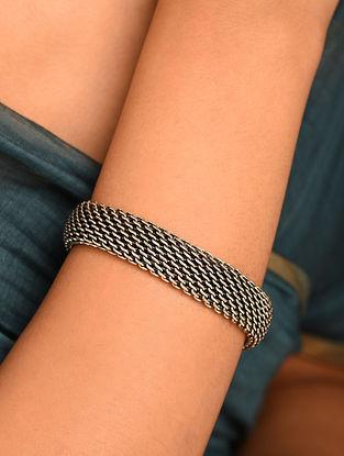 Vintage Silver Mesh Bracelet
