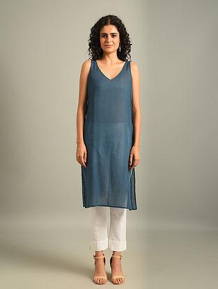 Blue Cotton Slip