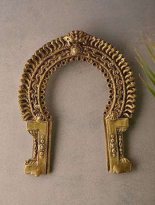 Brass Prabhavali (L-7in, W-5.6in)
