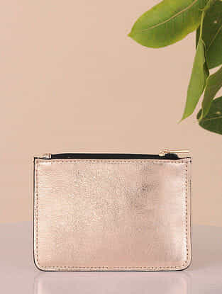 Copper Handcrafted Genuine Leather Coin Purse