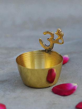 Brass Om Diya