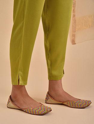 Lime Elasticated Waist Modal Pants