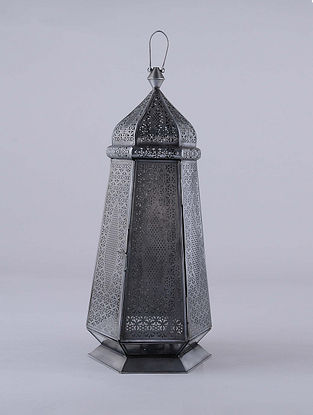 Antique Silver Handcrafted Lantern