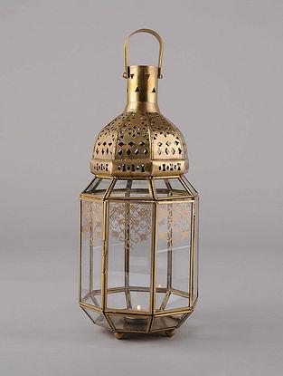 Antique Gold Handcrafted Lantern