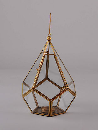 Antique Gold Hanging Handcrafted Lantern