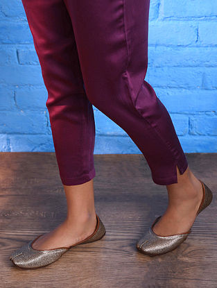 Pink Elasticated Waist Modal Pants