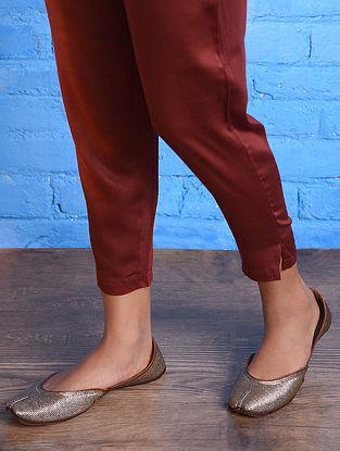 Red Elasticated Waist Modal Pants
