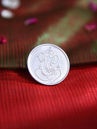 Ganesha Motif Silver Coin (10 gms)