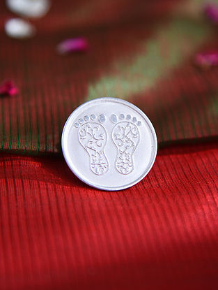 Lakshmi Charan Silver Coin (10 gms)