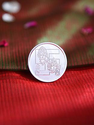 Lakshmi Ganesha Silver Coin (10 gms)