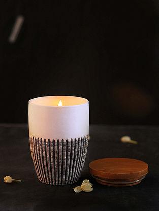Cinnamon Orange Ceramic Candle