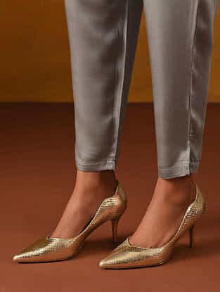 Grey Elasticated Waist Modal Pants