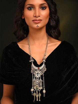 Vintage Afghan Silver Necklace