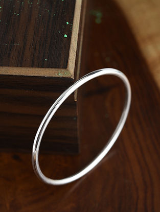 Tribal Silver Bangle