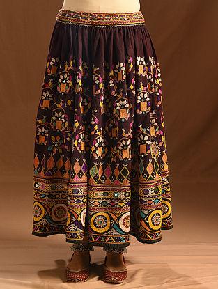 Vintage Embroidered and Embellished Skirt