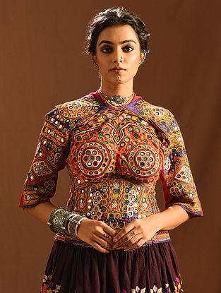 Vintage Embroidered and Embellished Choli