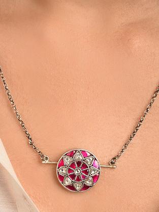 Tribal Silver Takkar Necklace