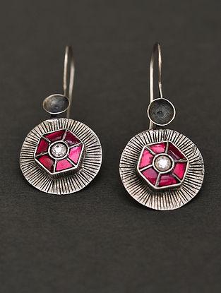 Tribal Silver Takkar Earring-Tops