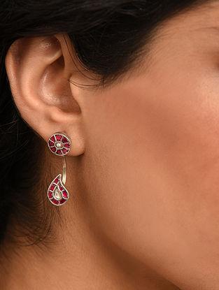 Tribal Silver Takkar Earring